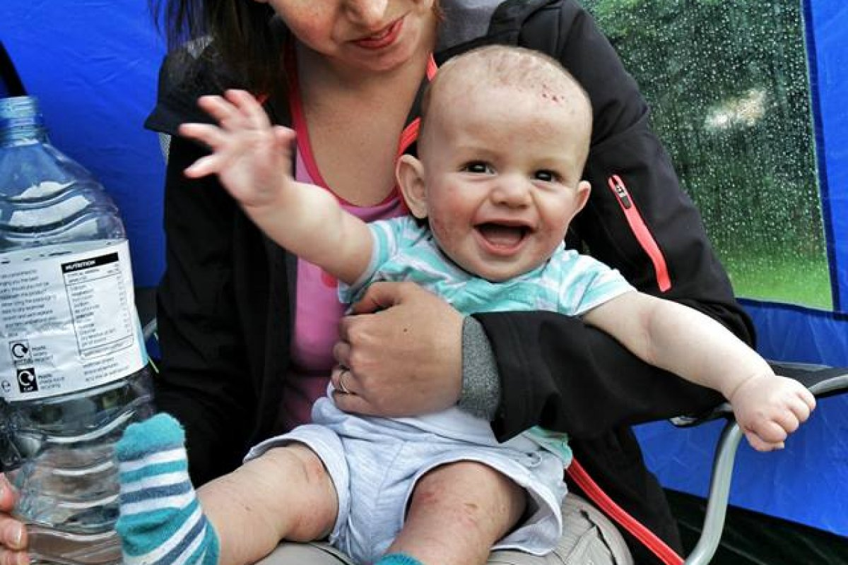 Top Tips for Taking Baby Camping