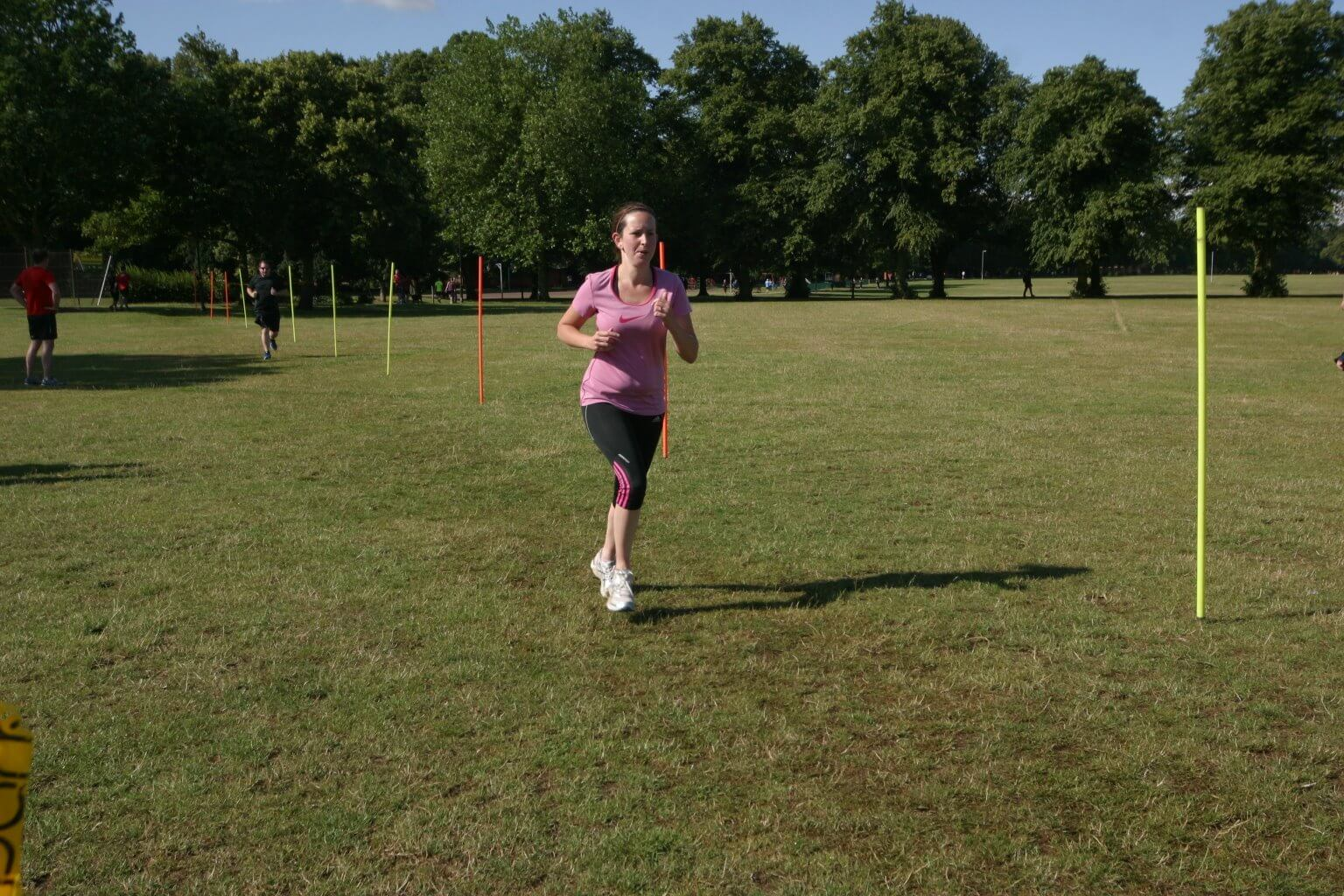 Me, last week, during my local parkrun. Believe me, this was the most flattering pic I could find