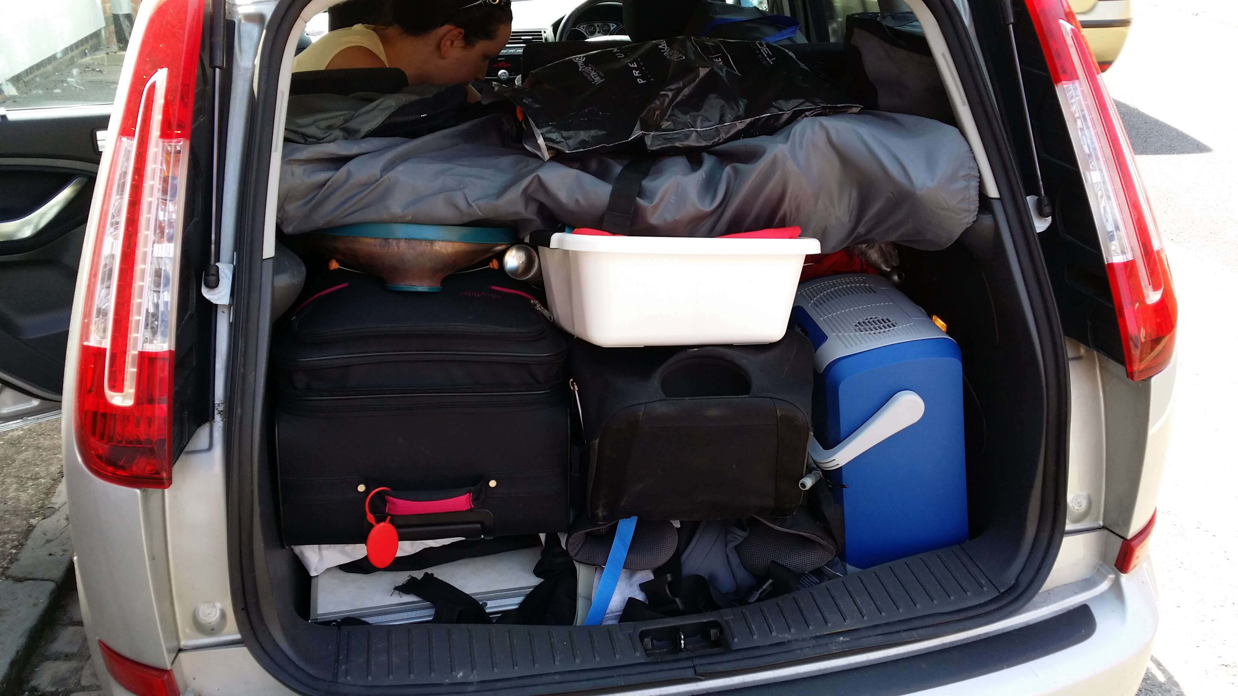Mastering the mystic art of car tetris is vital to the whole camping experience