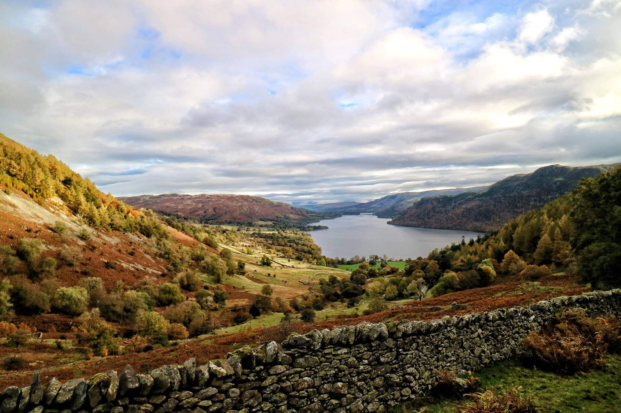 View over Ullswater