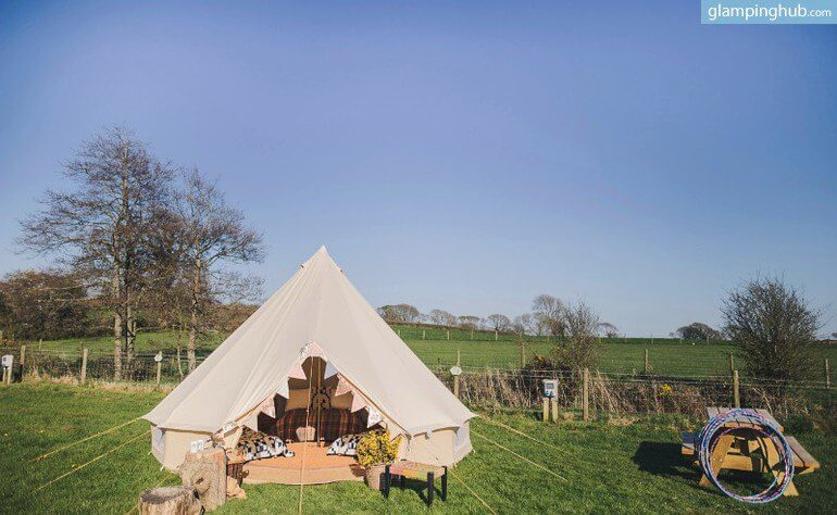 dog-friendly-bell-tents-pembrokeshire