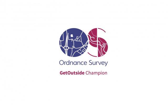 I'm an Ordnance Survey #GetOutside Champion!