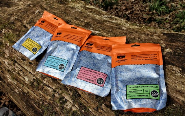 Review: FIREPOT Meals by Outdoorfood.com
