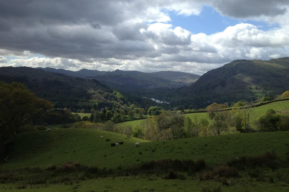 The Lake District: Easy Ambleside Walk