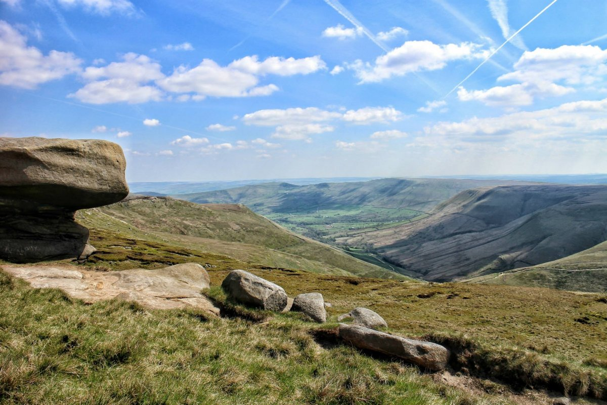 A Walk up Kinder Scout