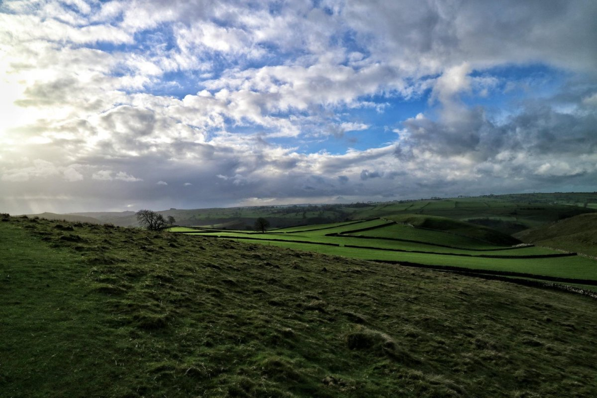 Thor's Cave and Wetton Walk