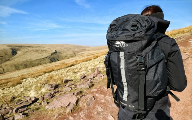 Review: TREK 33 LITRE BLACK RUCKSACK
