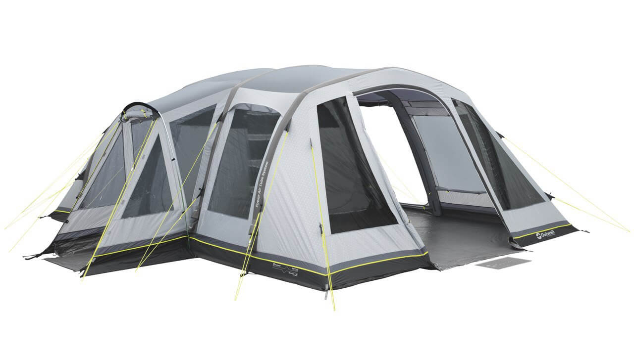8 man inflatable tent utube