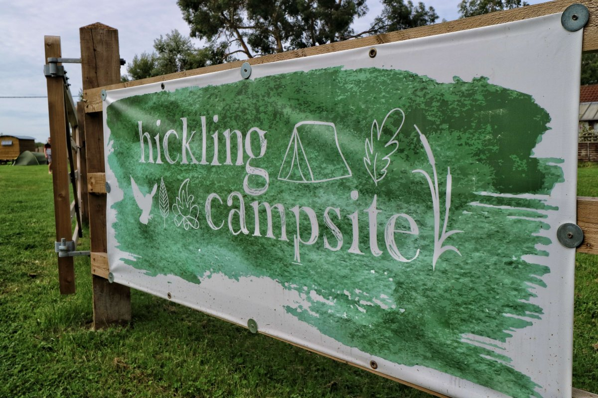 Review: Hickling Campsite, Norfolk Broads (updated 2020)