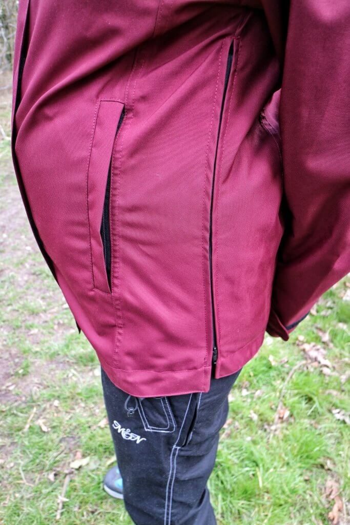 our maternity waterproof jacket