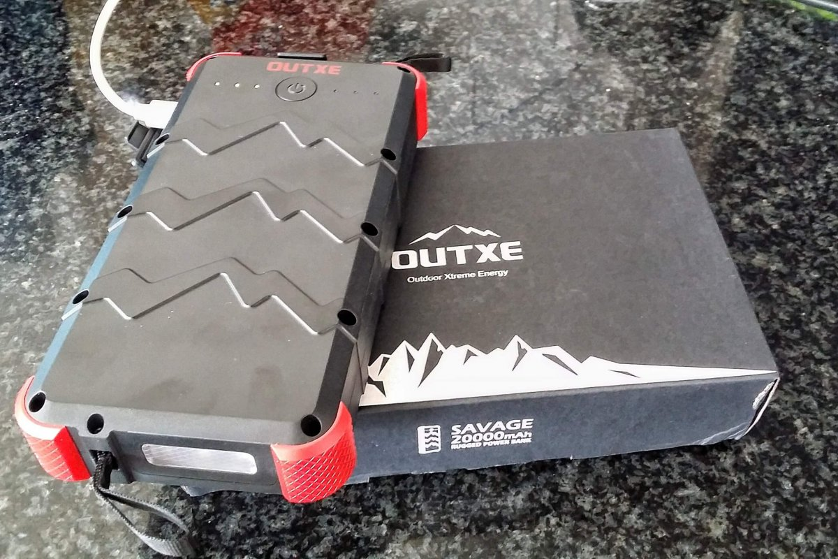 Review: OUTXE Savage 20000mAh Rugged Power Bank
