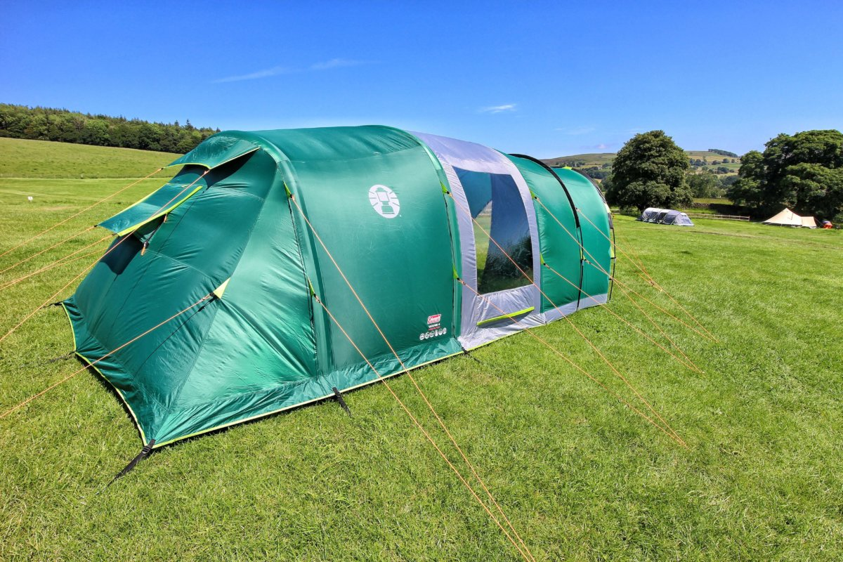 Tent Review: Coleman FastPitch Air Valdes 4