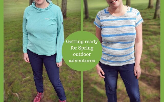 Getting ready for Spring outdoor adventures